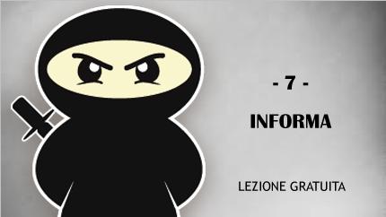 #7 - Informa, forma e regala!