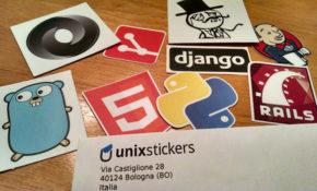 unixstickers